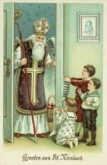 Anoniem -Sinterklaas- Postkaart