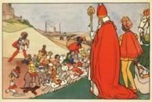 Rie Cramer (1887-1977) -Sinterklaas- Postkaart