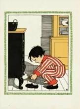 Sijtje Aafjes (1893-1972) -Sinterklaas- Postkaart