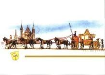 Jan Lavies (1902-2005) -De gouden koets- Postkaart