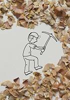 Cintascotch (J. P. Estrella) -Mining- Postkaart