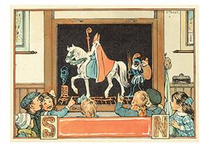 Cornelis Jetses (1873-1955) -Uit:Uit onze omgeving- Postkaart