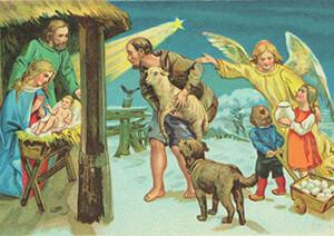 -Oude prentbriefkaart- Postkaart