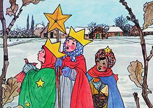Rie Cramer (1887-1977) -Illustratie- Postkaart
