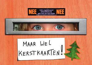 Fred Ottens -Maar wel kerstkaarten]- Postkaart
