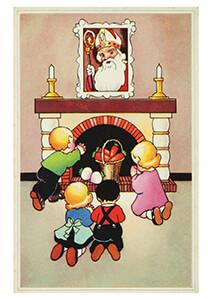 . -Dank U Sinterklaasje- Postkaart