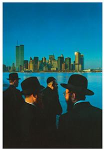 Hans Samsom (1939) -Ellis Island N.Y.- Postkaart