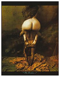 Jan Saudek (1935) -Saudek/(the burden)- Postkaart