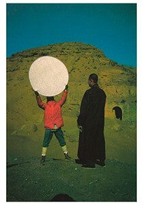 Ulay (Uwe Laysiepen, 1943) -Ulay/GWW/from 'the alien'- Postkaart