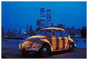 Eric Staller (1947) -Lightmobile- Postkaart