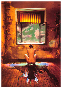 -Jan Saudek/Stormy Wheather- Postkaart