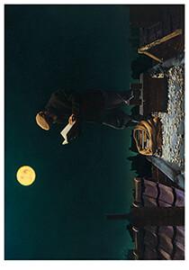 Teun Hocks (1947) -Zonder titel- Postkaart