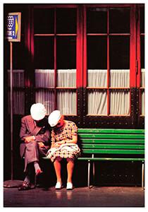Giorgio Skory -G.Skory/A la gare./WPP- Postkaart