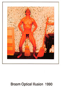 Chuck Samuels (1956) -C.Samuels/After Krims.- Postkaart