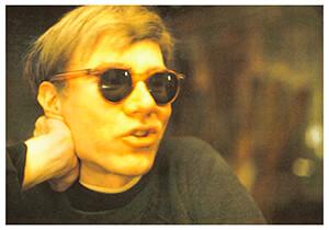 Andy Warhol (1928-1987) -N.Finkelstein/Andy posing,1965- Postkaart