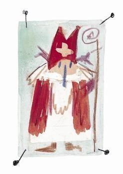 Fiep Westendorp (1916-2004) -Sinterklaas- Postkaart