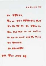 -Hartenbriefje- Postkaart