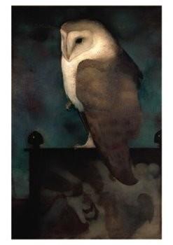 Jan Mankes (1889-1920) -J. Mankes/Grote uil op scherm- Poster
