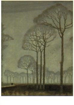 Jan Mankes (1889-1920) -J. Mankes/Bomenrij- Poster
