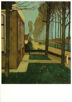 Jan Mankes (1889-1920) -J. Mankes/Weg langs Sch.Compag- Poster