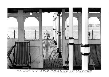 Philip Nelson -Pier and a half- Poster