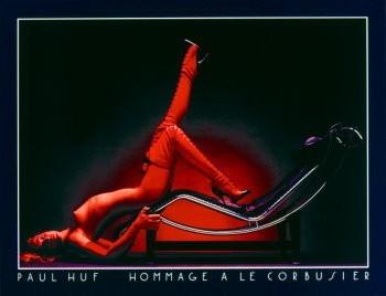 Paul Huf (1924-2002) -Hom.Corbusier- Poster