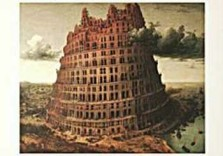 P. Bruegel de Oude (1525-1569)-Toren Babel- Poster