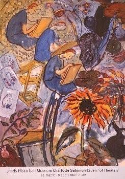 Charlotte Salomon (1917-1943) -Leven of Theater- Poster