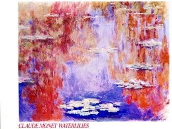 Claude Monet (1840-1926) -Waterlilies- Poster