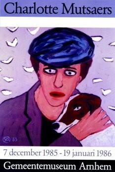 Charlotte Mutsaers (1942) -La Belle et la Bute- Poster