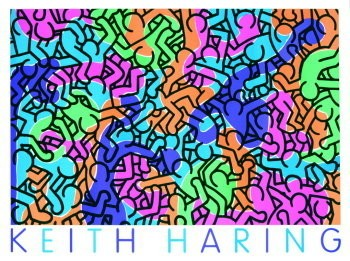 Keith Haring (1858-1990) -Mulder- Poster
