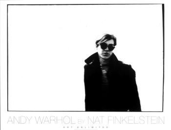 Nat Finkelstein (1933-2009) -Andy Warhol White W.- Poster