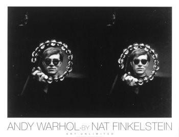 Nat Finkelstein (1933-2009) -Andy Warhol Dbl Tamb- Poster