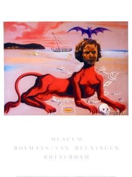 Salvador Dali (1904-1989) -Shirley Temple- Poster