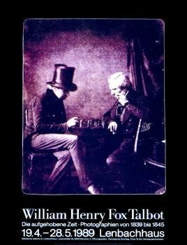 W. H. Fox Talbot (1800-1877) -Schachspieler- Poster