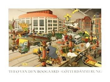 Theo v.d. Boogaard (1948) -Gotterdammerung/ 60*80/ k- Poster