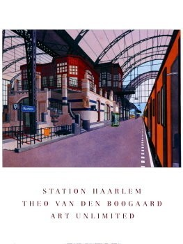 Theo v.d. Boogaard (1948) -NS Haarlem- Poster