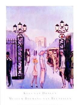 Kees van Dongen (1877-1968) -Porte Dauph.- Poster