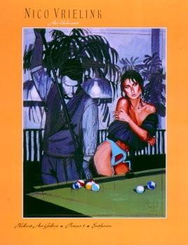 Nico Vrielink (1958) -Untitled- Poster