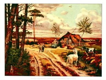 Cornelis Jetses (1873-1955) -Heide in mei- Poster