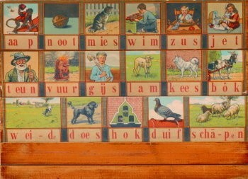 Cornelis Jetses (1873-1955) -Leesplankje- Poster
