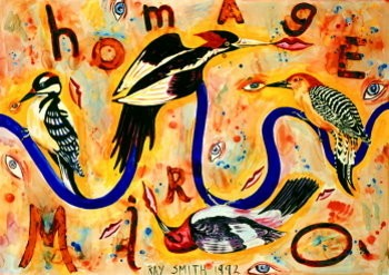 Ray Smith -Homm.a Miro- Poster
