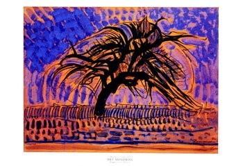 Mondriaan (1872-1944)Mondrian -De blauwe boom- Poster