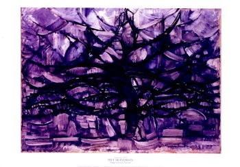 Mondriaan (1872-1944)Mondrian -De grijze boom- Poster