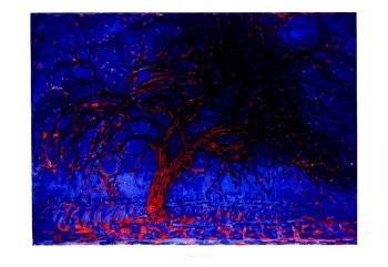 Mondriaan (1872-1944)Mondrian -De rode boom- Poster