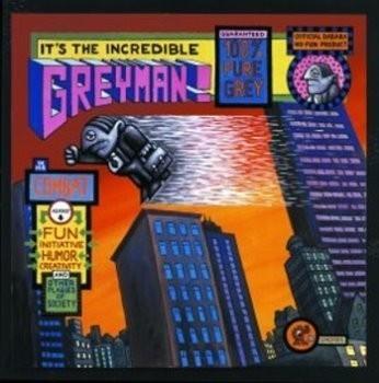 DADARA (1969) -Incredible greyman- Poster