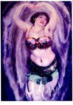 Jan Sluijters (1881-1957) -La Sulamite- Poster