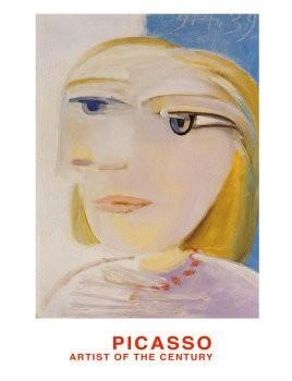 Pablo Picasso (1881-1973) -Tête de Femme- Poster
