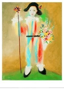 Pablo Picasso (1881-1973) -Le petit pierrot br- Poster