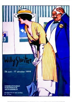 Willy Sluiter (1873-1949) -W.Sluiter/vereeniging tot- Poster